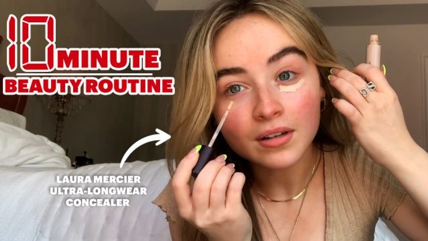 Sabrina Carpenter's 10 Minute Makeup Routine For Natural Light