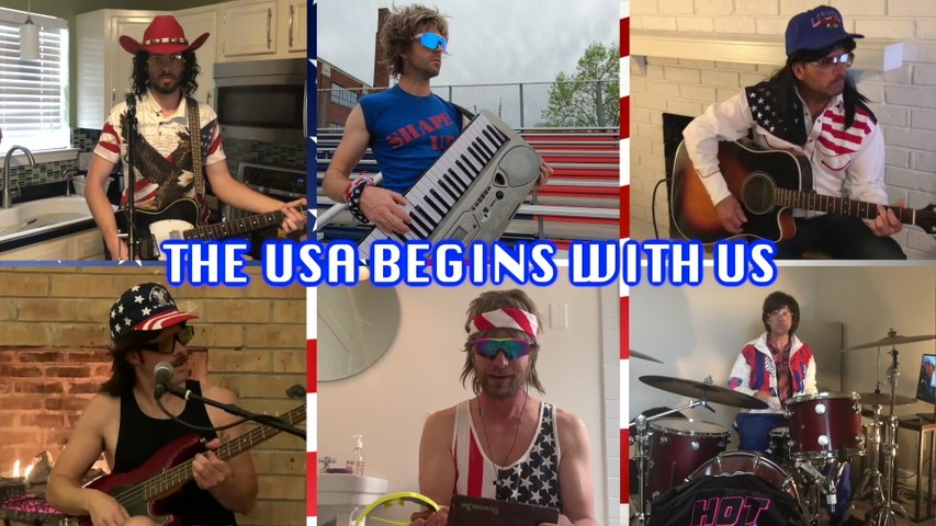Hot Country Knights - The USA Begins With US