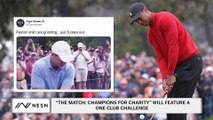 The Tiger Woods, Peyton Manning, Tom Brady, Phil Mickelson Golf Match at Medalist Golf Club on Sunday Will Feature A One Club Challenge
