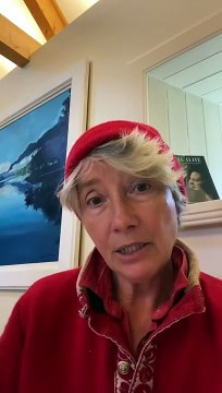 Emma Thompson message to Inverclyde and NHS staff