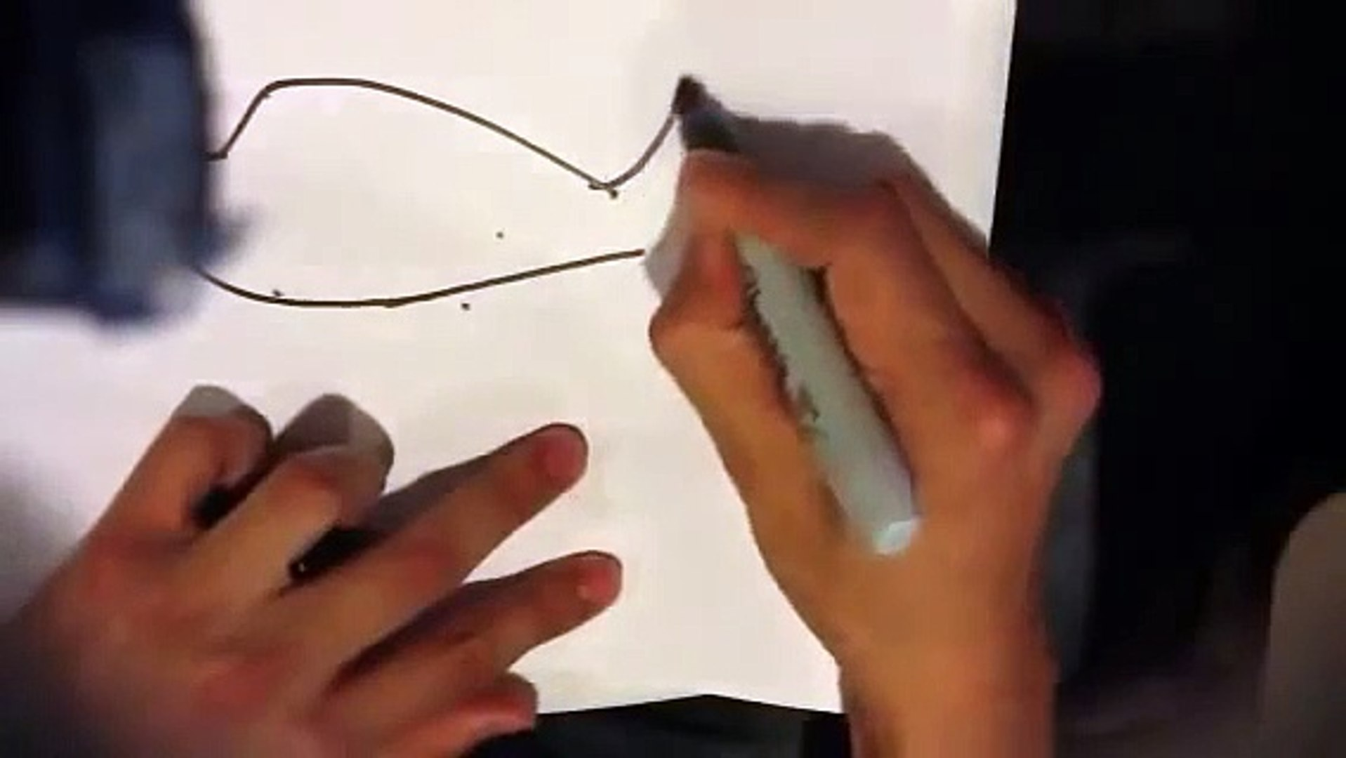 How to draw a plane - easy things to draw