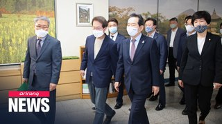 S. Korean Prime Minister, Education Minister check on reopened high schools
