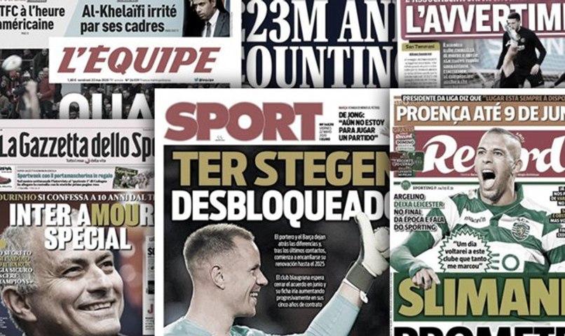 La situation financière catastrophique de Manchester United fait trembler l'Angleterre, Rebondissement dans le dossier Ter Stegen au Barça