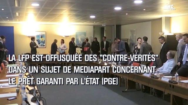 Ligue 1 : La LFP porte plainte contre X après des articles de Mediapart et L'Equipe