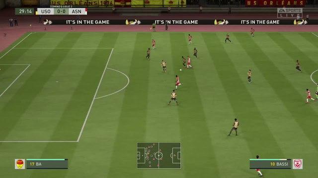 US Orléans - AS Nancy-Lorraine : notre simulation FIFA 20 (L2 - 38e journée)