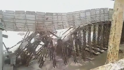 """Zyklon """"Amphan"""": Im Bau befindliche Brücke in Indien stürzt ein"""
