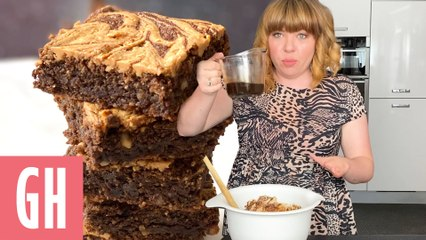Bake Along With Briony May Williams - Vegan Peanut Butter Brownies