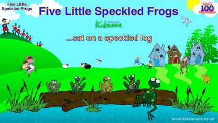 Kidzone - Five Little Speckled Frogs