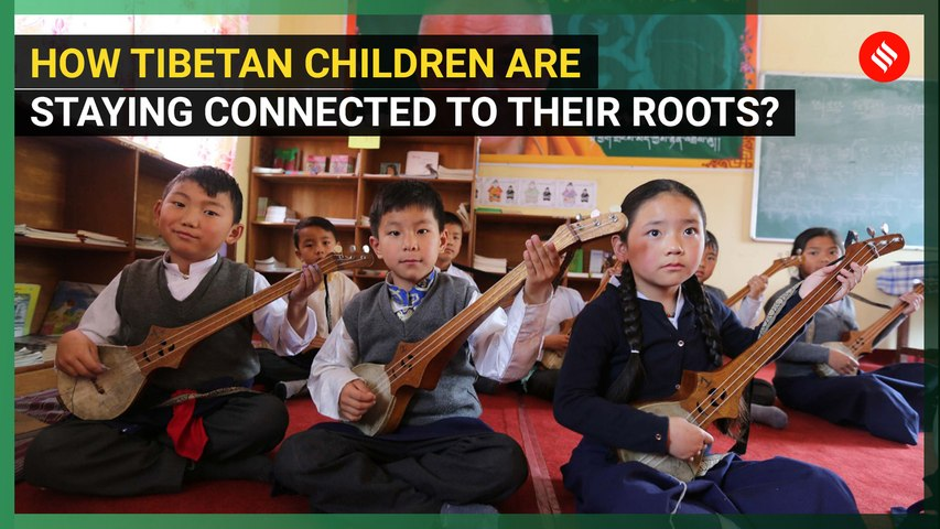 How Tibetan Children are staying connected to their roots?