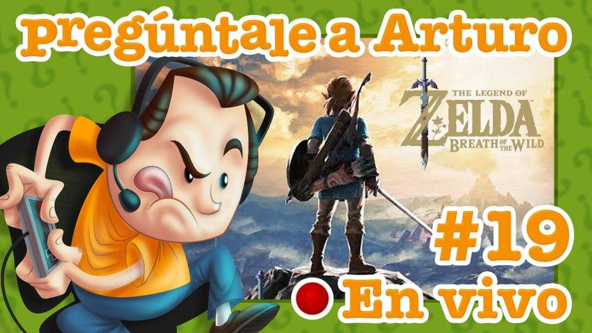 Zelda: Breath of the Wild #19 | Pregúntale a Arturo en Vivo (21/05/2020)