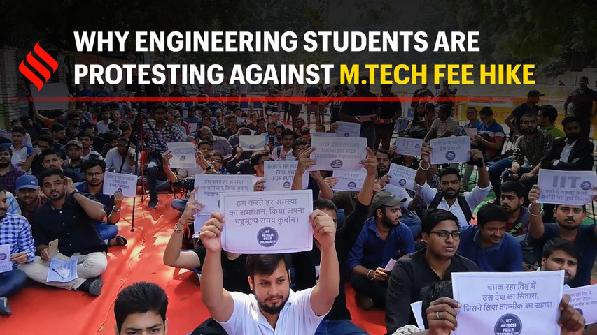 Why engineering students are protesting against M.Tech fee hike