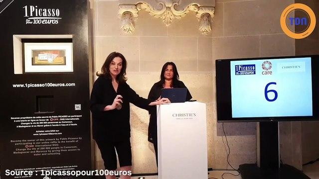 Elle a remporté avec un ticket de 100 euros un Picasso d'une valeur de 1 millions d'euros !