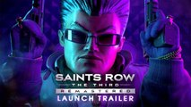 Saints Row: The Third - Remastered Launch Trailer (Official) 2020