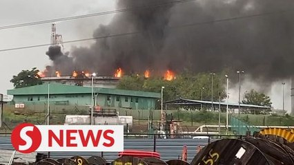 Hengyuan refinery in Port Dickson catches fire