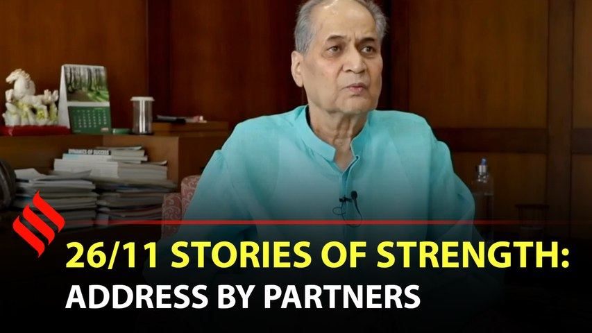 26/11: Stories of Strength | Address by partners