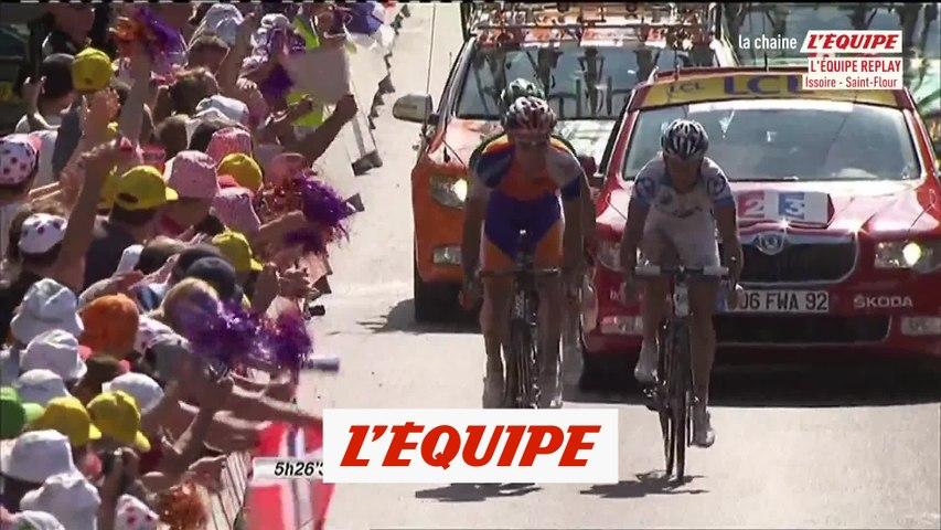 Revivez la victoire de Luis Leon Sanchez à Saint-Flour - Cyclisme - Rétro 2011