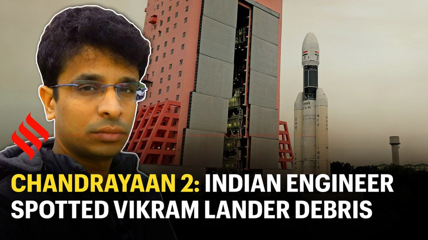 Found something out of the ordinary: Indian engineer who spotted Vikram lander debris