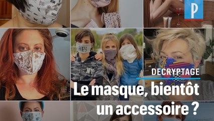 Le masque va-t-il devenir un accessoire de mode comme un autre ?