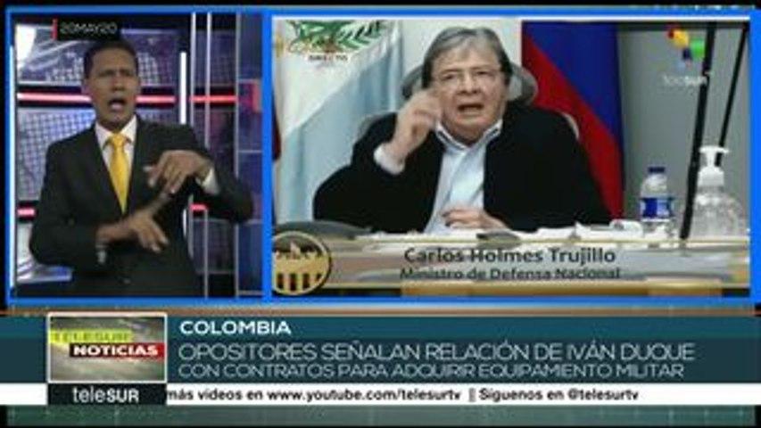 Colombia: min de Defensa niega vínculos de Iván Duque con espionaje