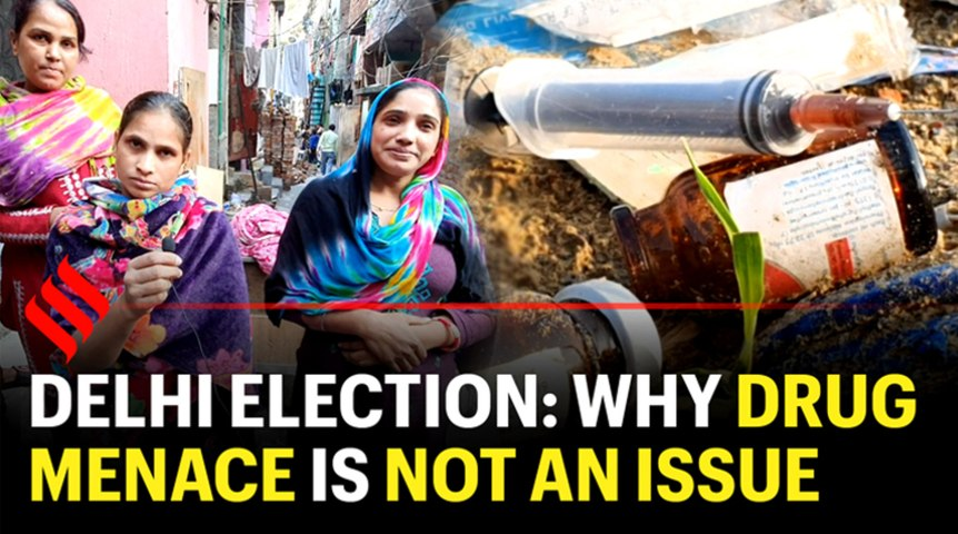 Delhi polls: Why is no one talking about drug menace?