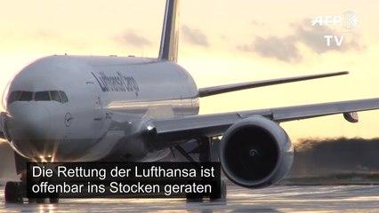 Lufthansa-Rettung gerät offenbar ins Stocken
