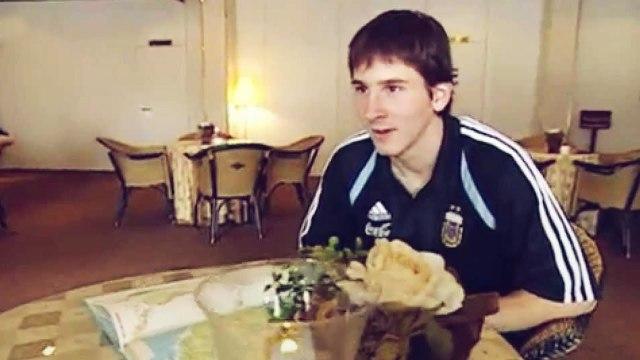 La première interview de Leo Messi prouve qu'il était prêt dès sa naissance | Oh My Goal