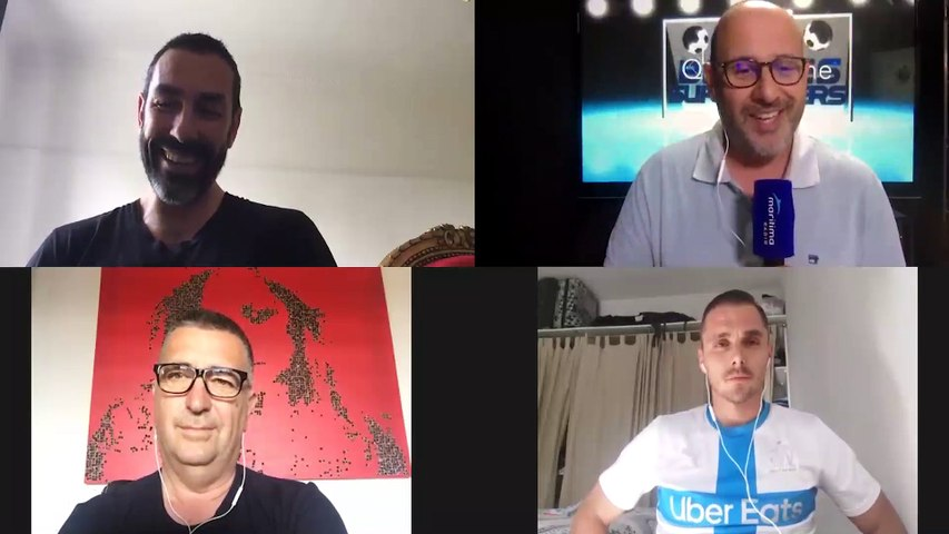 Robert Pirès partage ses souvenirs l'OM dans le Bar des supporters