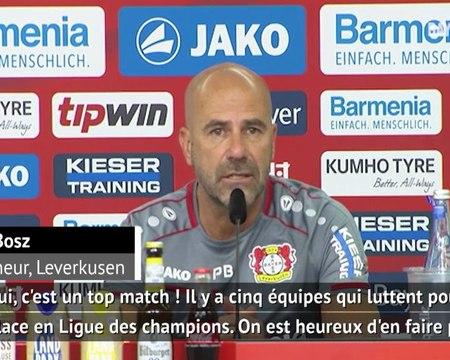 """27e j. - Bosz (Leverkusen) : """"Monchengladbach ? Un top match !"""""""