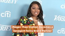 Megan Thee Stallion Is A Fenty Brand Partner