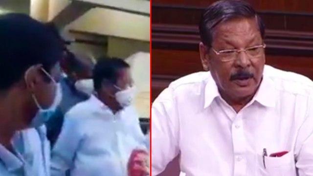R.S.Bharathi Arrested For His Controversial Speech | ஆர்.எஸ்.பாரதி அவரது இல்லத்தில் கைது