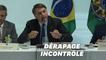 Au Brésil, une vidéo de Bolsonaro enchaînant les dérapages diffusée