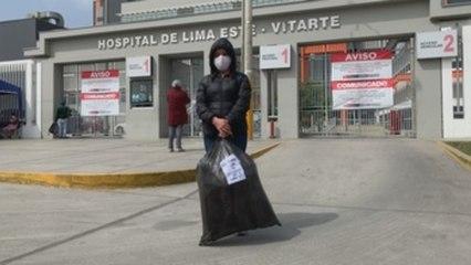 La angustia envuelve los hospitales de Perú durante la pandemia