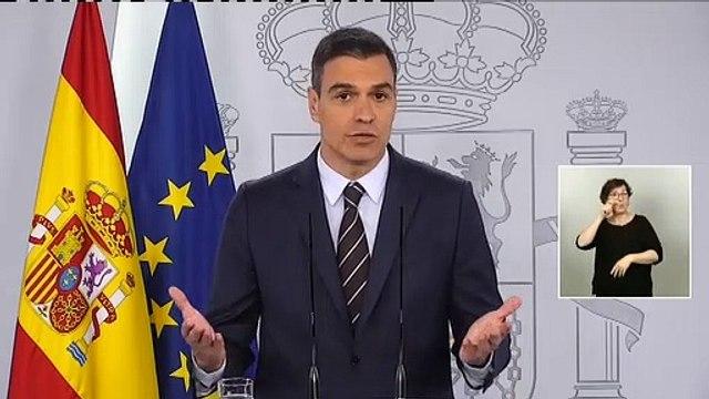 Pedro Sánchez anuncia que España se abrirá al turismo extranjero en el mes de julio