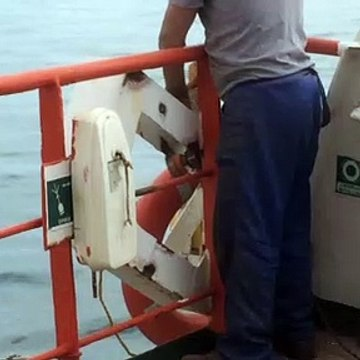 Gemici boya için hazırlık yapıyor
