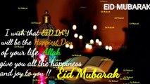 Eid Mubarak  2020  | Eid Wishes Video | Eid Mubarak Greetings 2020 | Eid Mubarak ✨