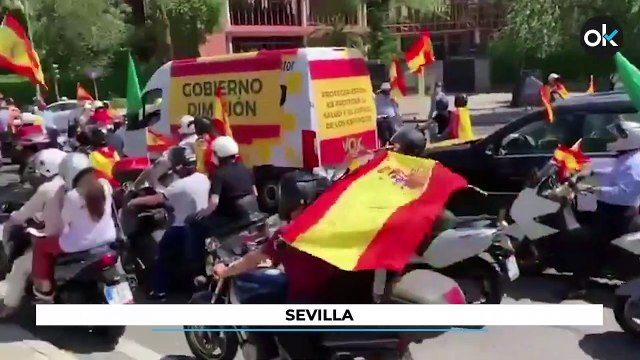España entera protesta contra el Gobierno
