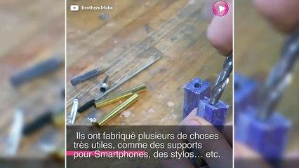Ils recyclent du plastique pour en faire des stylos !