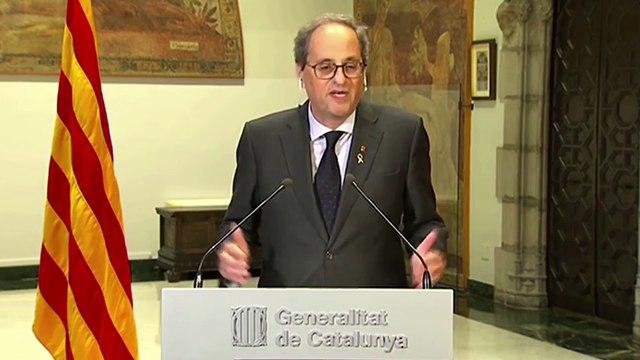 Torra impondrá a Sánchez 40 medidas económicas para Cataluña