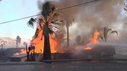 Live Rescue: San Bernardino Fire Aftermath