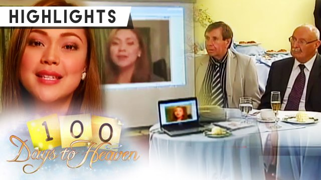 Sophia presents to the investors through video conference | 100 Days To Heaven