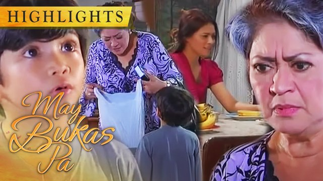 Santino gives Doña Anita a Leche Flan prepared by Selda | May Bukas Pa