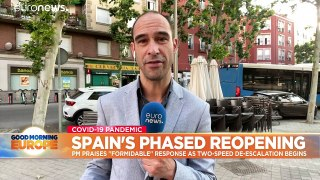 Spaniards can hit the beach and drink on the terrace as lockdown eases