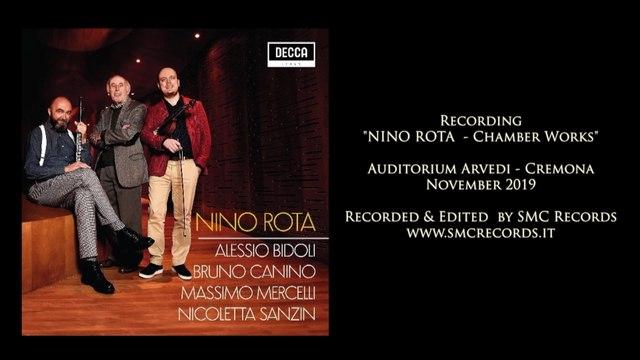 Alessio Bidoli - Nino Rota: Chamber Works EPK