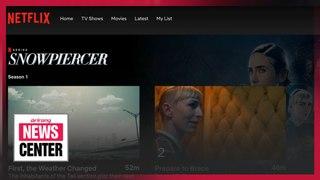 TV series adaptation of director Bong's 2013 movie 'Snowpiercer' released on Mon. through Netflix