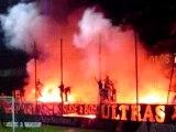 Ultras Auxerre 90 Fumigènes
