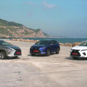 2020 Lexus RX Range Preview