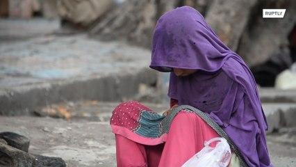 A escassez de alimentos causada pelo bloqueio do COVID-19 ameaça crianças vulneráveis no Afeganistão