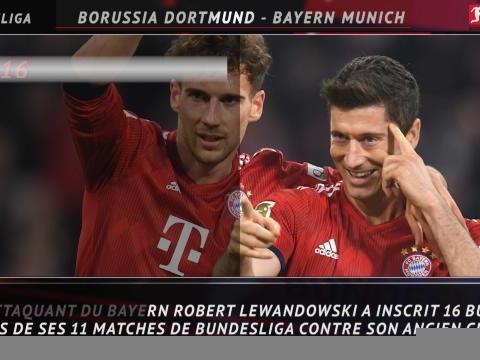 28e j. - 5 choses à savoir avant le choc Dortmund-Bayern