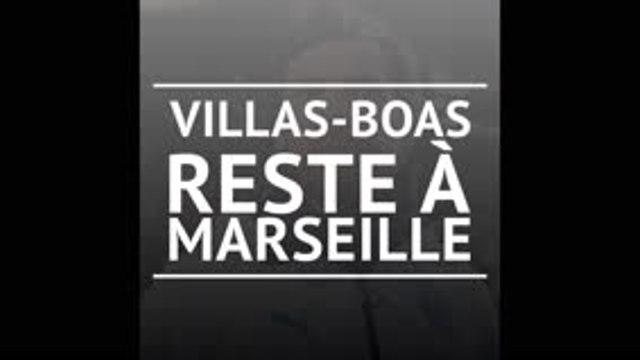 Villas-Boas reste à l'OM