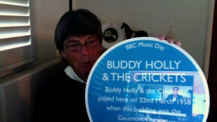 Andrew Eborn in conversation with Mike Read - Blue Plaques from Elvis to The Magic Circle